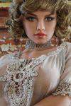 Hottest Blonde Life Size Realistic Sex Dolls  165cm Celi