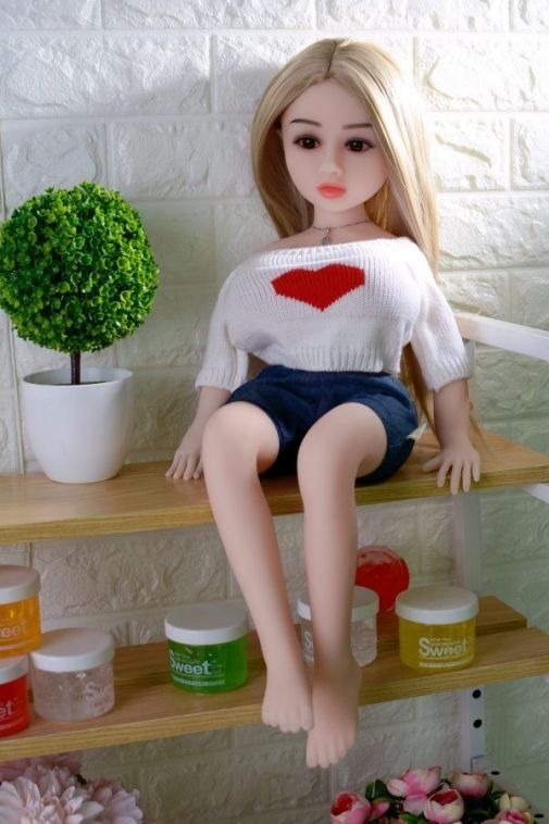 Blonde Mini Sex Doll 65CM - Nannie